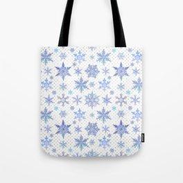 Snowflakes #1 Tote Bag