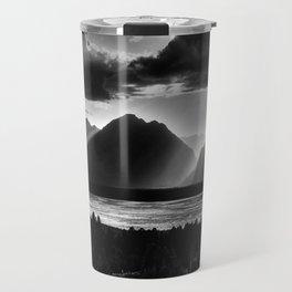Grand Teton Light Beams Travel Mug