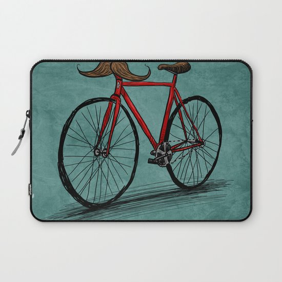 Baffi Bici Laptop Sleeve