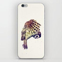 Flying Owl II iPhone Skin