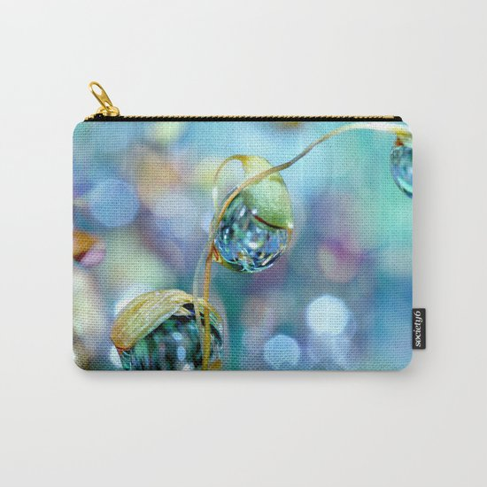 Rainbow Moss Drops Carry-All Pouch