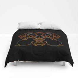Crossed Guitars & Tribals Comforters