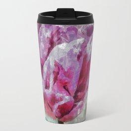 Raspberry bud of a tulip. Travel Mug