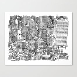 New York View 3 Canvas Print
