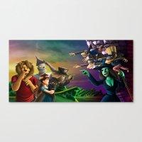 oz Canvas Prints featuring OZ by Lukas Stobie