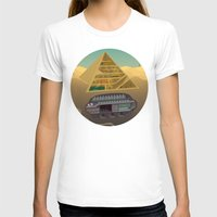 egypt T-shirts featuring Egypt by Xènia Castellví