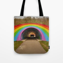 Inside the Rainbow Tote Bag