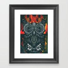 Forest Folk Framed Art Print