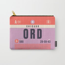 Luggage Tag A - ORD Chicago O'Hare USA Carry-All Pouch