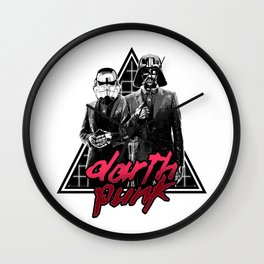 Darth Punk Wall Clock
