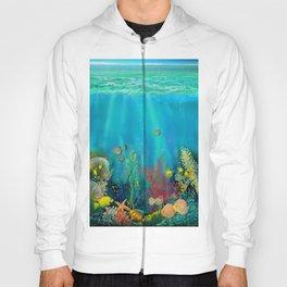Undersea Art With Coral Hoody