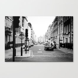 London street Canvas Print