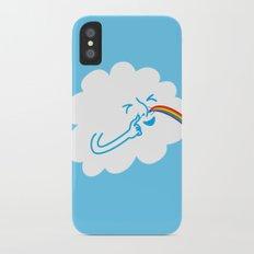 A cloud full of mischief iPhone X Slim Case