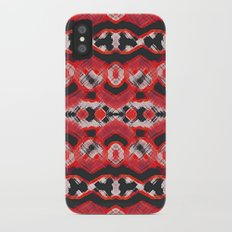Montana Stripe - Cherry iPhone X Slim Case