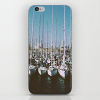 boats iPhone & iPod Skins featuring Boats by usfromars