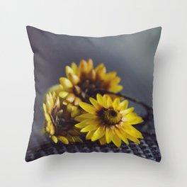 Suns Throw Pillow