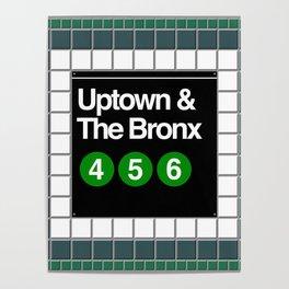 subway bronx sign Poster