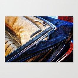 Vintage Car - Velvet Luxury Canvas Print