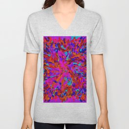ovoid dynamics 3 Unisex V-Neck