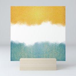 Teahupo'o, sea and sand Mini Art Print
