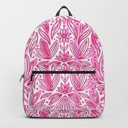 Rococo Magenta Enamel Art Deco  Backpack