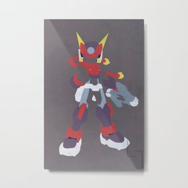 Model AX Metal Print