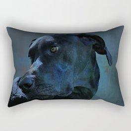Midnight Blue Rectangular Pillow