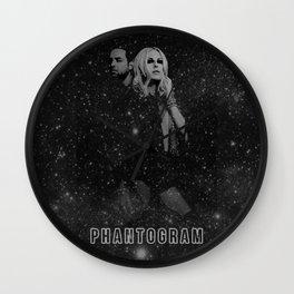 Phantogram Wall Clock