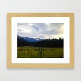 Marshlands Framed Art Print