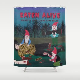 EATEN ALIVE Shower Curtain