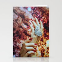 hands Stationery Cards featuring Hands by John Turck