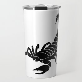 Scorpion Black Travel Mug
