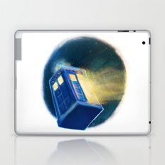 The TARDIS Laptop & iPad Skin