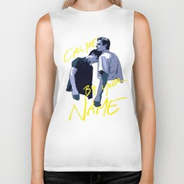 Call Me by Your Name Biker Tank