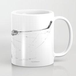 The Slap Shot (The Art of Athletes™) Coffee Mug