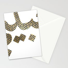 Habibi graphic Arabic Letters Love Arab Halal print Stationery Cards