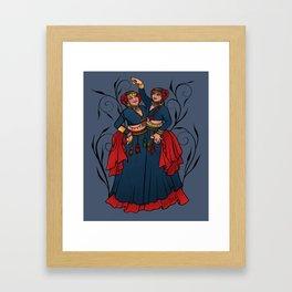 Tribal Belly Dancers Framed Art Print