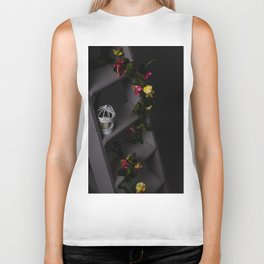 Flowers of night Biker Tank