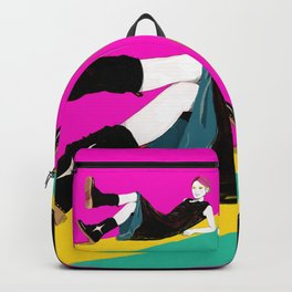 sae-pink Backpack