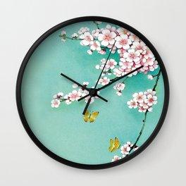 Dreamy cherry blossom Wall Clock