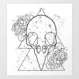 Bornithemtry Art Print