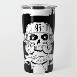 93rd Mechanized Cavalry Logo _Mech Version Travel Mug