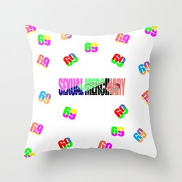 Sexual Mercinary Throw Pillow