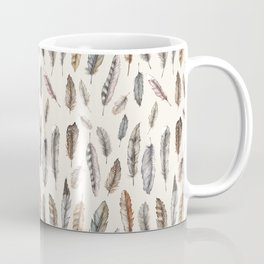 Feathery Nature Pattern Coffee Mug
