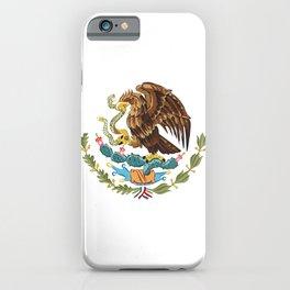 Mexico flag emblem iPhone Case