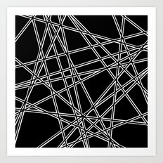 To The Edge Black #2 Art Print