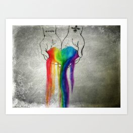 Agape Art Print
