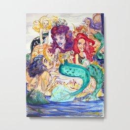 Fantashe Ocean Metal Print