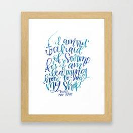 Little Women Framed Art Print
