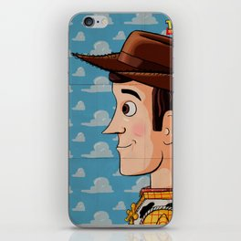 You're my favourite deputy! iPhone Skin